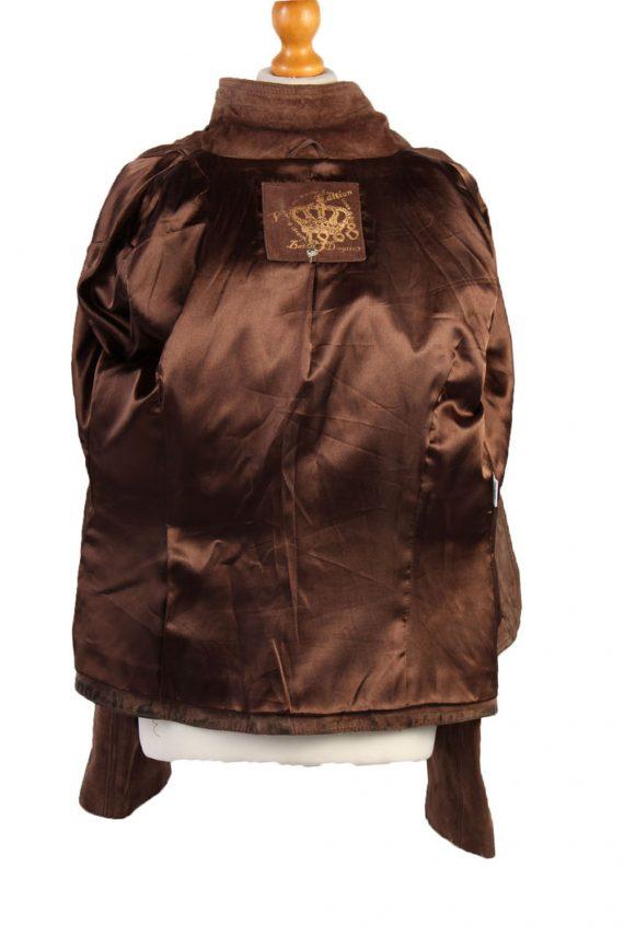70s/90s Women Designer Genuine Coat/Jacket -C461-37951