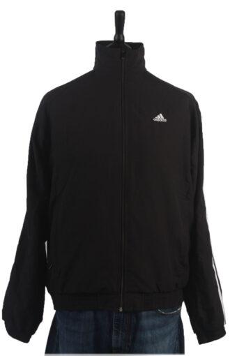 Adidas Track Top 90s Retro High Neck Black L