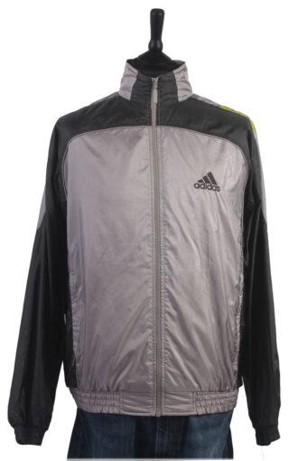 Adidas Track Top 90s Retro High Neck Grey XL
