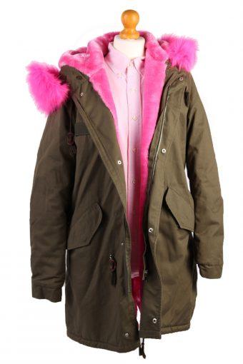 Faux Fur Parka -C482-38050