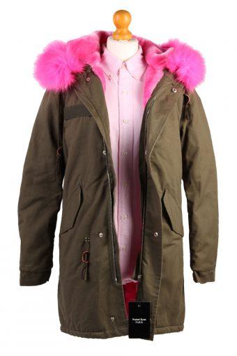 Faux Fur Parka -C483-38055