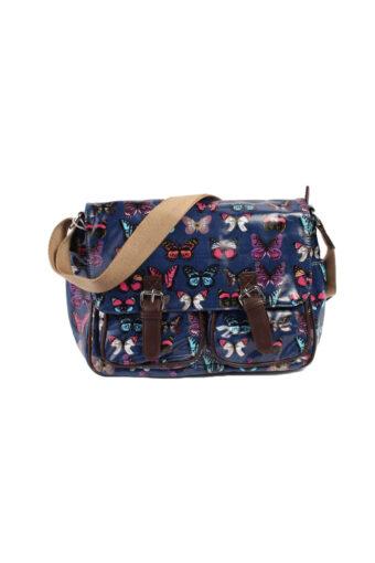 Butterfly Messenger Bag