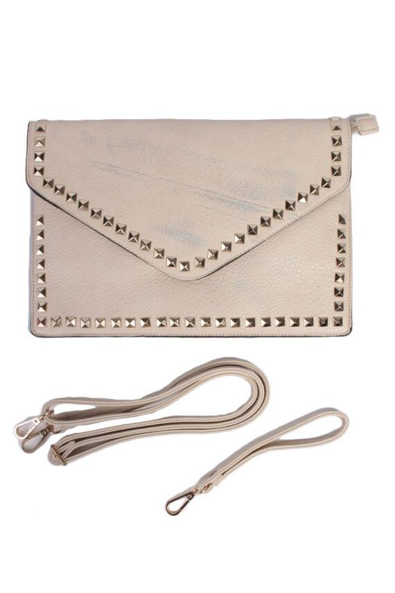 Beige Hand/Shoulder Bag - BG362-0
