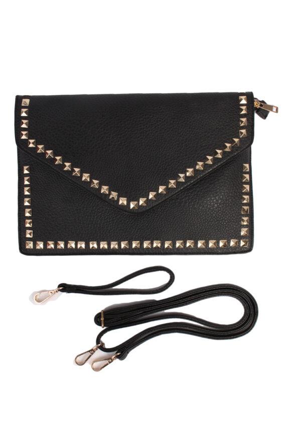 Black Hand/Shoulder Bag - BG364-0