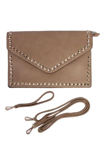 Beige Hand/Shoulder Bag