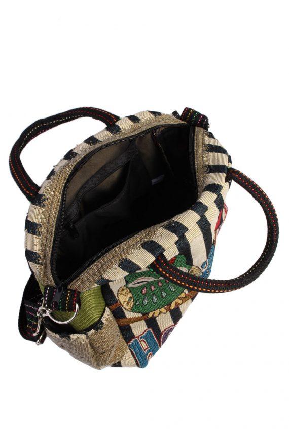 Ladies Owl Printed Bag - Multi - BG432-40780