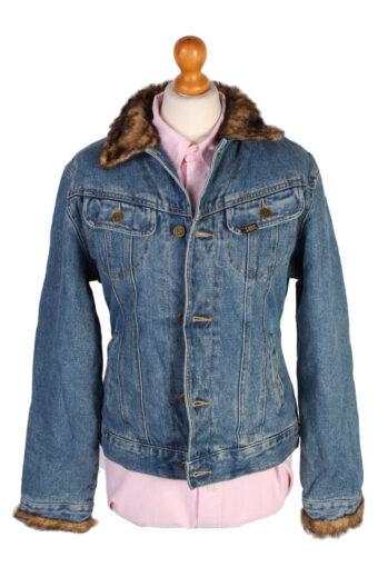 Lee Denim Jacket Western Blue L