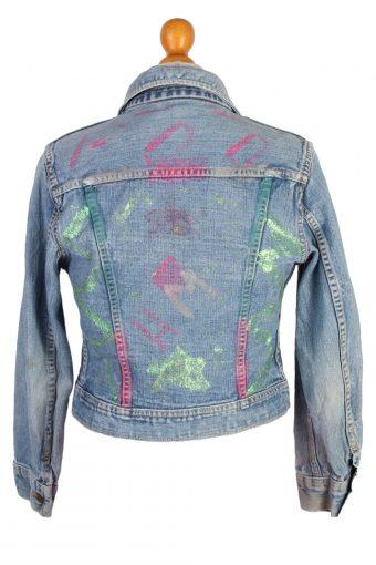 Lee Vintage Riders Denim Jacket Trucker Blue Chest XL -DJ1234-41155