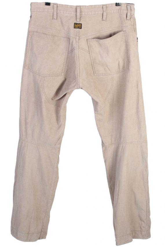 """Vintage Retro G-Star Raw Essentials Jeans - Waist: - 37 """" - J2576-42413"""