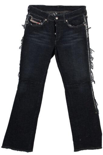 Womens Girls Diesel Jeans Bootcut Low Rise Wash 30Waist