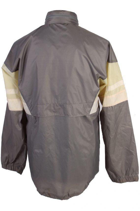 Adidas Vintage Raincoat - Grey Chest: 52- RC048-42815