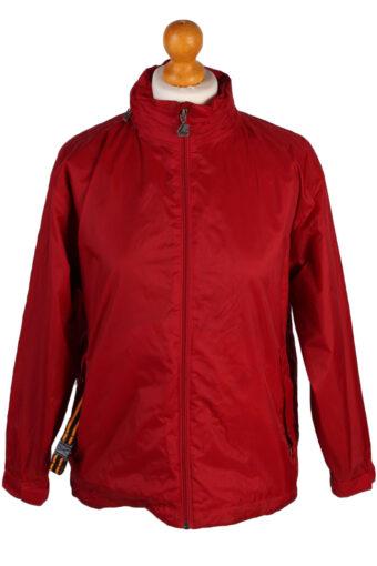 K Way Raincoat Waterproof Outdoor Jacket Red 10-11 Years