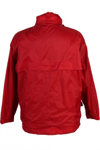 K-Way Vintage Raincoat - Red Chest: 42 - RC065-42873