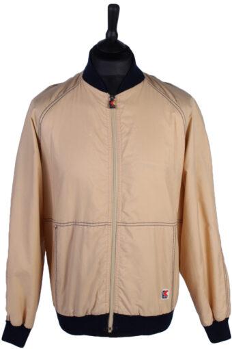 K Way Raincoat Waterproof Outdoor Jacket Yellow L