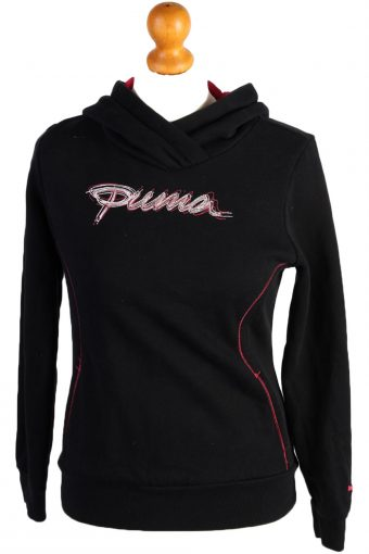 Puma Hoodies Track Top 90s Retro Black XXS