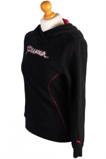 Vintage Puma Tracksuit Top Black / XL -SW1558-41952