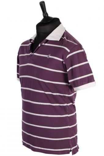 Mens K Gang Striped Polo Shirt - Multi - M -PT0699-43437