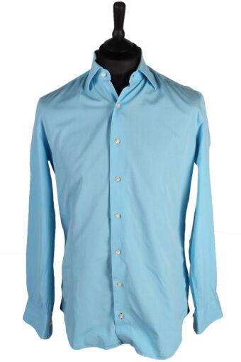Tommy Hilfiger Men Shirts 90s Blue L