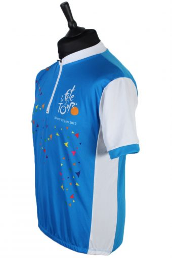 Short Sleeve Cycling Jersey Tops - L - Multi - CW0427-43770
