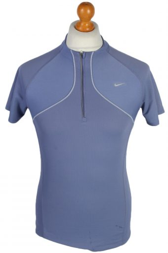 Cycling Shirt Jersey 90s Retro Purple M