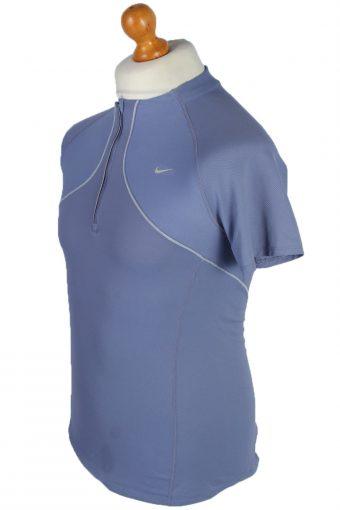Nike Vintage Cycling Shirts - M Purple - CW0472-45508