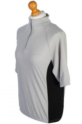 Vintage Retro Cycling Shirts - L Grey - CW0478-45527