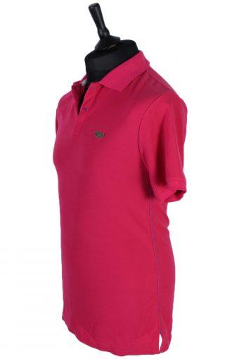 Mens Twoplay Plain Polo T Shirt - Pink - XL -PT0763-44462