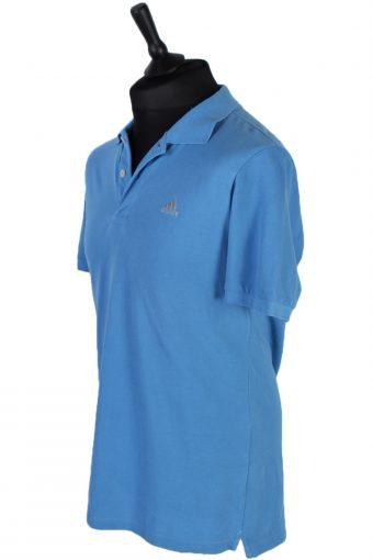 Mens Adidas Plain Polo Shirt - Blue - M -PT0790-44754