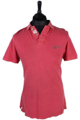 Polo Shirt 90s Retro Pink M