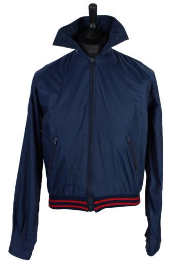 Raincoat Waterproof Outdoor Jacket Windbreaker Navy S