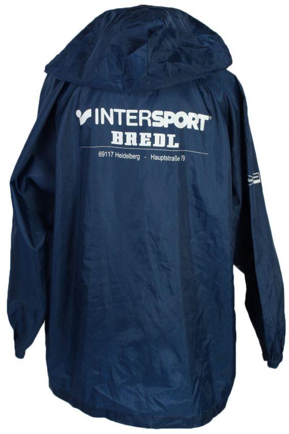 Windbreaker by ET Sport Vintage Raincoat - Navy - RC114-43918