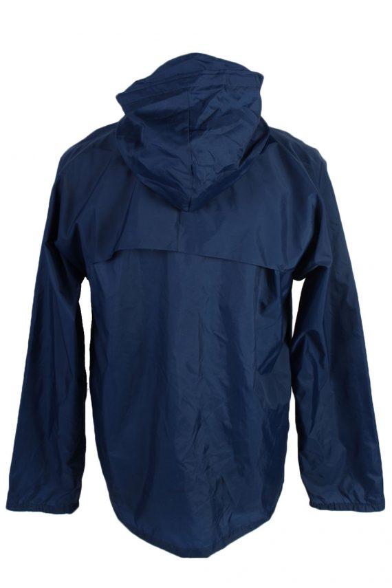 Vintage Retro Raincoat & Windbreakers M,L Navy - RC191-45324