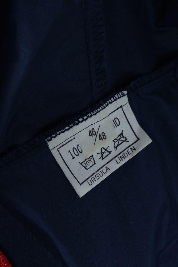 Vintage Retro Raincoat & Windbreakers M,L Navy - RC191-45323
