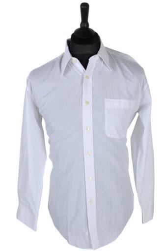 90s Shirt Crocodile Print White L