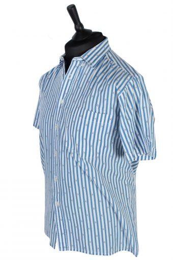 Challenger Stripe Patterned Shirt - M - Multi - SH2545-44864