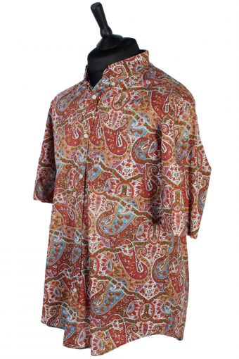 La Chemiserie Abstract Floral Patterned Shirt - M, L - Multi - SH2548-44874