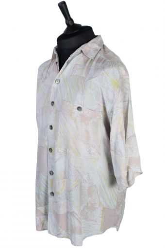 Accanto Abstract Patterned Shirt - M - Multi - SH2559-44908