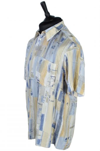 Yves Dorsey Abstract Patterned Shirt - M - Multi - SH2563-44920
