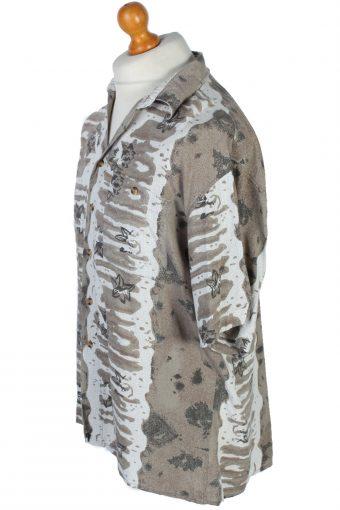 Mantoni Floral Patterned Hawaiian Shirt - L, XL - Multi - SH2582-45000