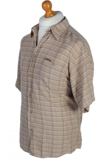 Lee Cooper Vintage Checked Short Sleeve Shirt M Multi - SH2592-45228
