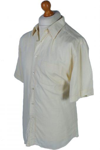 Pierre Cardin Vintage Plain Shirts L,XL Yellow - SH2614-45375