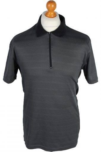 Cycling Shirt Jersey 90s Retro Grey M