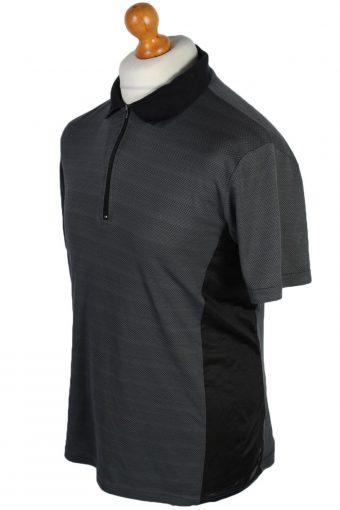 Crane Vintage Cycling Shirt - M Black - CW0493-45681