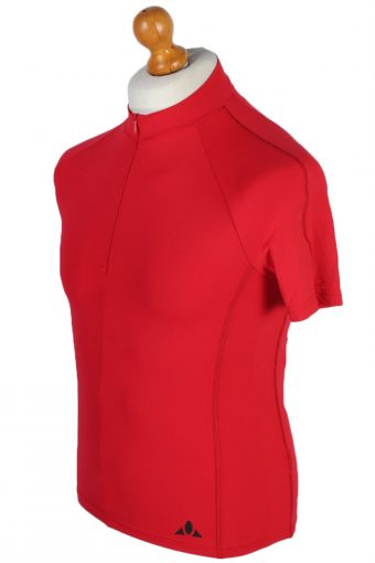 Vaude Vintage Cycling Shirt - XS, S Red - CW0495-45686