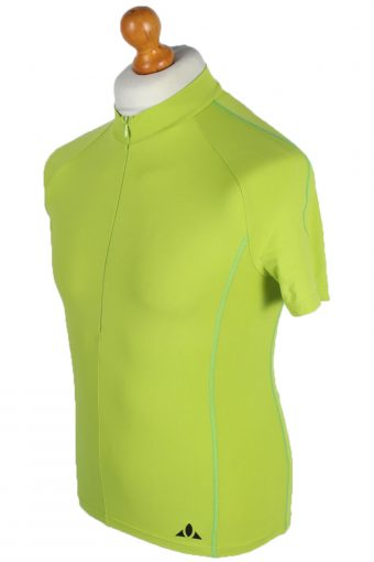 Vaude Vintage Cycling Shirt - S, M Green - CW0496-45689