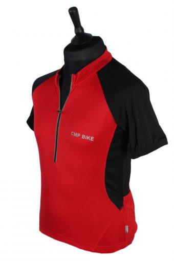 CMP Bike Vintage Cycling Shirt M Red - CW0547-46799