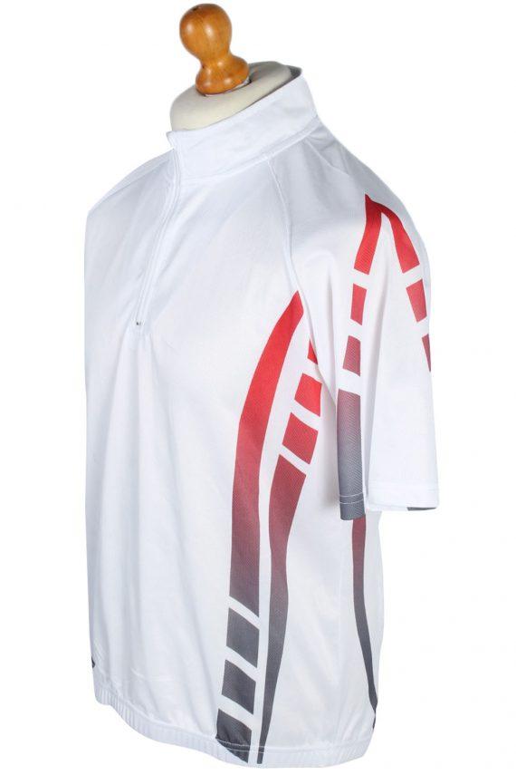 4 Sports Vintage Cycling Shirt L White - CW0557-46829