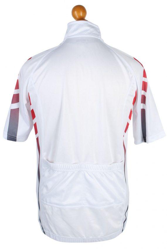 4 Sports Vintage Cycling Shirt L White - CW0557-46830