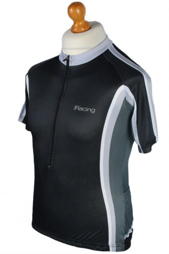 Crivit Vintage Cycling Shirt M Grey - CW0559-46835
