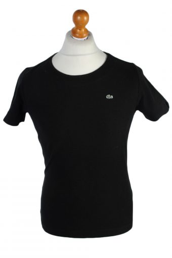 Lacoste Polo Shirt 90s Retro Black XL